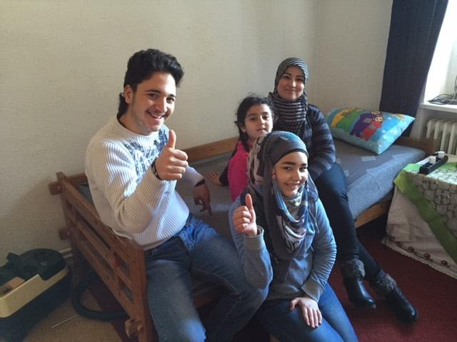 Emma Matratzen für Flüchtlinge