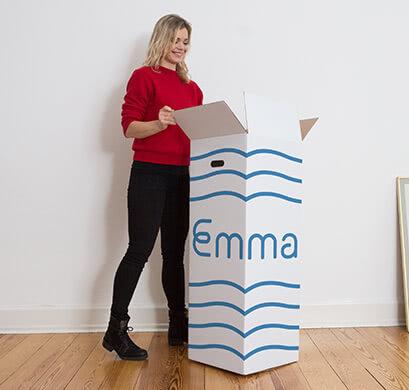 Emma ist eine Bed-in-a-box Matratze